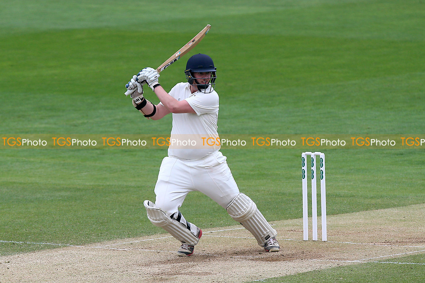 Jack Clark in batting action for Durham during Essex CCC vs Durham MCCU, English MCC University Match Cricket at The Cloudfm County Ground on 4th April 2017