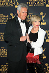 LOS ANGELES - APR 24: Alex Trebek, Florence Henderson at The 42nd Daytime Creative Arts Emmy Awards Gala at the Universal Hilton Hotel on April 24, 2015 in Los Angeles, California
