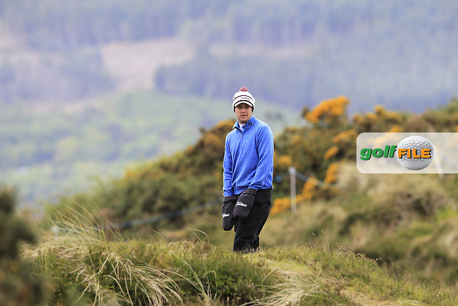 Peter UIHLEIN (USA) on the 13th hole during Thursday's Round 1 of the 2015 Dubai Duty Free Irish Open, Royal County Down Golf Club, Newcastle Co Down, Northern Ireland 5/28/2015<br />  Picture Eoin Clarke, www.golffile.ie