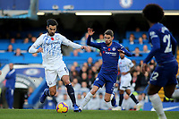 Andre Gomes of Everton in action during Chelsea vs Everton, Premier League Football at Stamford Bridge on 11th November 2018