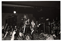 Metallica performing at Broadway Jacks in Chicago. December 15, 1983. <br /> CAP/MPI/GA<br /> ©GA/MPI/Capital Pictures