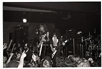 Metallica performing at Broadway Jacks in Chicago. December 15, 1983. <br /> CAP/MPI/GA<br /> &copy;GA/MPI/Capital Pictures