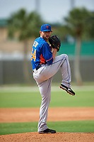 New York Mets Duane Below (64) during a minor league Spring Training game against the St. Louis Cardinals on March 31, 2016 at Roger Dean Sports Complex in Jupiter, Florida.  (Mike Janes/Four Seam Images)