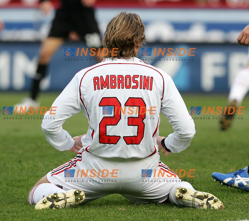 Massimo Ambrosini (Milan)<br /> Italian &quot;Serie A&quot; 2006-07<br /> 17 Feb 2007 (Match Day 24)<br /> Siena-Milan (3-4)<br /> &quot;Artemio Franchi&quot;-Stadium-Siena-Italy<br /> Photographer: Andrea Staccioli INSIDE