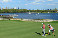 Justin Rose (ENG) during the third round of the Northern Trust played at Liberty National Golf Club, Jersey City, USA. 10/08/2019<br /> Picture: Golffile | Michael Cohen<br /> <br /> All photo usage must carry mandatory copyright credit (© Golffile | Michael Cohen)