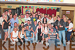 Jason McGrath from Causeway, seated centre celebrated his 21st birthday with family and friends in McHale's bar Causeway, on Saturday night      Copyright Kerry's Eye 2008