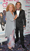 Louise Jameson and Mark Haldor at the &quot;Crossing Over&quot; UK film premiere, Cineworld West India Quay, Hertsmere Road, London, England, UK, on Sunday 06 August 2017.<br /> CAP/CAN<br /> &copy;CAN/Capital Pictures