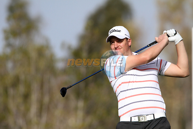 Matthew Southgate (ENG) on the 17th tee on Day 1 of the 2012 Open de Andalucia Costa del Sol at Aloha Golf Club, Marbella, Spain...(Photo Jenny Matthews/www.golffile.ie)