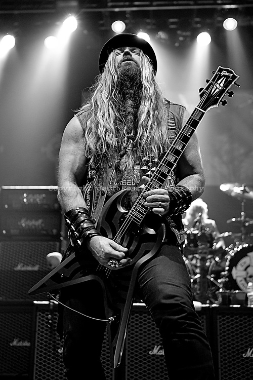 Zakk Wylde of Black Label Society live in concert at Verizon Theatre on October 30, 2010 in Grand Prairie, TX.