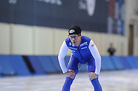 SPEED SKATING: SALT LAKE CITY: 18-11-2015, Utah Olympic Oval, ISU World Cup, training, KC Boutiette (USA), ©foto Martin de Jong