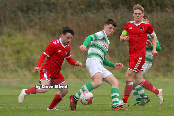 Cork City v Shamrock Rovers / U17 Airtricity League Southern Division / 9.3.19 /  Bishopstown Stadium, Cork / <br /> <br /> Copyright Steve Alfred/photos.extratime.ie/pitchsidephoto.com 2019
