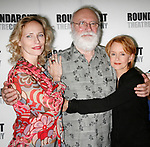 Phillip Bosco, Laila Robins, Swoosie Kurtz <br />attending the press Meet and Greet with the cast of The Roundabout Theatre Company production of HEARTBREAK HOUSE in New York City.<br />August 23, 2006