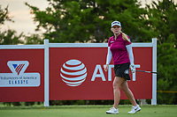 Stephanie Meadow (NIR) watches her tee shot on 12 during the round 2 of the Volunteers of America Texas Classic, the Old American Golf Club, The Colony, Texas, USA. 10/4/2019.<br /> Picture: Golffile | Ken Murray<br /> <br /> <br /> All photo usage must carry mandatory copyright credit (© Golffile | Ken Murray)
