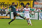20.07.2018, Zillertalarena, Zell am Ziller, AUT, FSP, 1.FBL, SV Werder Bremen (GER) vs 1. FC Koeln (GER), im Bild<br /> <br /> Martin Harnik (Neuzugang SV Werder Bremen #09)<br /> Rafael Czichos (Neuzugang Koeln #05)<br /> Foto © nordphoto / Kokenge