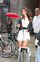 NEW YORK, NY August 29, 2017 Taylor Hill at Victoria Secret Fitting  at Victoria Secret Office in New York August 29 2017.Credit:RW/MediaPunch