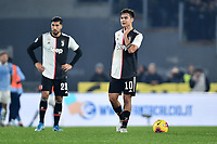 Dejection Paulo Dybala of Juventus <br /> Roma 7-12-2019 Stadio Olimpico <br /> Football Serie A 2019/2020 <br /> SS Lazio - Juventus<br /> Foto Antonietta Baldassarre / Insidefoto