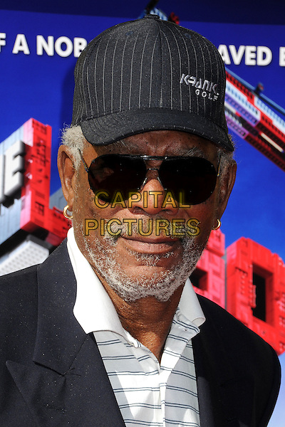 1 February 2014 - Westwood, California - Morgan Freeman. &quot;The Lego Movie&quot; Los Angeles Premiere held at the Regency Village Theater.  <br /> CAP/ADM/BP<br /> &copy;Byron Purvis/AdMedia/Capital Pictures