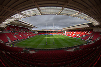 A general view of Ashton Gate, home of Bristol Bears<br /> <br /> Photographer Bob Bradford/CameraSport<br /> <br /> Premiership Rugby Cup Round 4 - Bristol Bears v Exeter Chiefs - Saturday 26th January 2019 - Ashton Gate - Bristol<br /> <br /> World Copyright © 2018 CameraSport. All rights reserved. 43 Linden Ave. Countesthorpe. Leicester. England. LE8 5PG - Tel: +44 (0) 116 277 4147 - admin@camerasport.com - www.camerasport.com