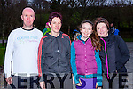 Stephen Griffin, Siobhain falvey, Ruth Doyle and Linda Doyle  at the 5k Parkrun in Muckross Park on Saturday