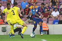 Junior Firpo, Albiol, Chukwueze<br /> 21/01/2016 <br /> Barcelona - Villarreal <br /> Calcio La Liga 2019/2020 <br /> Photo Paco Largo Panoramic/insidefoto <br /> ITALY ONLY
