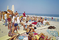 Surfing Contest in Virginia Beach, Virg. 1960's.