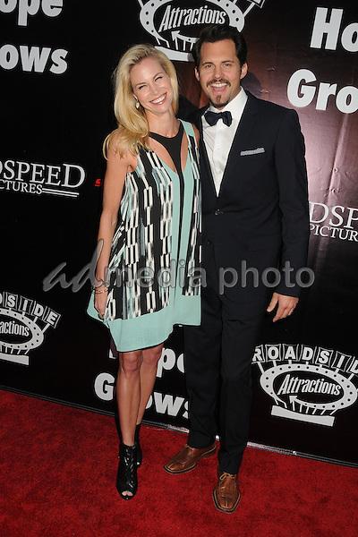 "4 May 2015 - Hollywood, California - Brooke Burns, Kristoffer Polaha. ""Where Hope Grows"" Los Angeles Premiere held at Arclight Cinemas. Photo Credit: Byron Purvis/AdMedia"