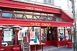 Exterior, Chez Omar Restaurant, Paris, France, Europe