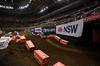 SX2 ; Wilson Todd 1st<br /> Monster Energy Aus-XOpen<br /> Supercross &amp; FMX International<br /> Qudos Bank Arena, Olympic Park NSW<br /> Sydney AUS Saturday 11  November 2017. <br /> &copy; Sport the library / Jeff Crow