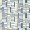 Kente, a hand cut glass mosaic  shown in Agate, Opal, Moonstone and Chalcedony, is part of the Erin Adams Collection for New Ravenna.