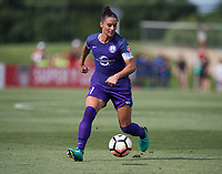 Boyds, MD - July 8, 2017: The Washington Spirit tied the Orlando Pride 2-2 during a National Women's Soccer League (NWSL) match at the Maryland SoccerPlex.
