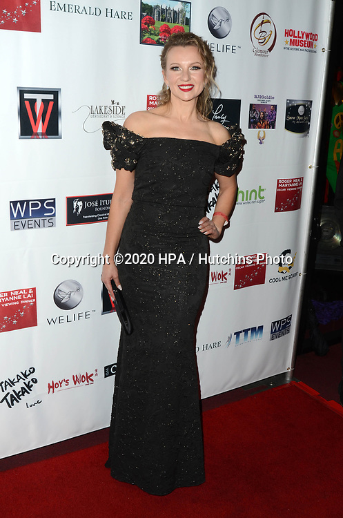 LOS ANGELES - FEB 9:  Ieva Georges at the 5th Annual Roger Neal & Maryanne Lai Oscar Viewing Dinner at the Hollywood Museum on February 9, 2020 in Los Angeles, CA