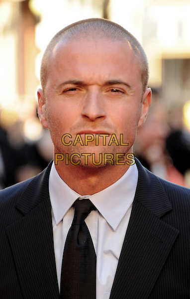 Jason Barry .'Titanic 3D' world premiere, Royal Albert Hall, London, England..27th March 2012.headshot portrait black white tie .CAP/WIZ.© Wizard/Capital Pictures.