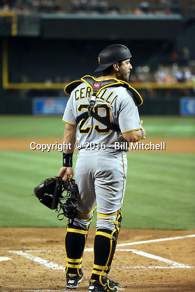 Francisco Cervelli - 2016 Pittsburgh Pirates (Bill Mitchell)