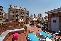 Roof Deck at 182-188 Columbus Avenue