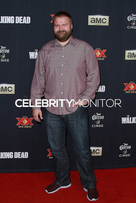 UNIVERSAL CITY, CA, USA - OCTOBER 02: Robert Kirkman arrives at the Los Angeles Premiere Of AMC's 'The Walking Dead' Season 5 held at AMC Universal City Walk on October 2, 2014 in Universal City, California, United States. (Photo by David Acosta/Celebrity Monitor)
