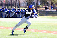 ELON, NC - MARCH 1: Sean Ross #20 of Indiana State University rounds first base during a game between Indiana State and Elon at Walter C. Latham Park on March 1, 2020 in Elon, North Carolina.