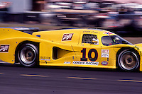 #10 Lola T600 Chevrolet of Josele Garza, Jim Adams, and Ralph Kent-Cooke (11th place) 12 Hours or Sebring, Sebring International Raceway, Sebring, FL, March 19, 1983.  (Photo by Brian Cleary/bcpix.com)