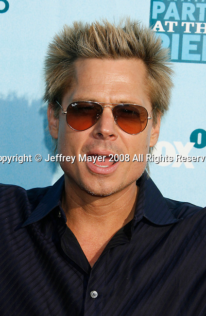 Actor Kato Kaelin arrives at the Fox All-Star Party At The Pier at the Santa Monica Pier on July 14, 2008 in Santa Monica, California.