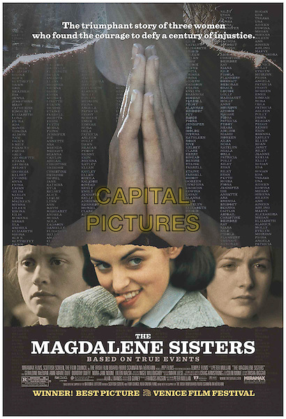 POSTER ART .Magdalene Sisters.Filmstill - Editorial Use Only.CAP/AWFF.Supplied by Capital Pictures.