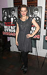 Amy Spanger celebrating Billy Ray Cyrus making his Broadway Debut  in 'Chicago' at Victor's Cafe in New York City on 11/05/2012