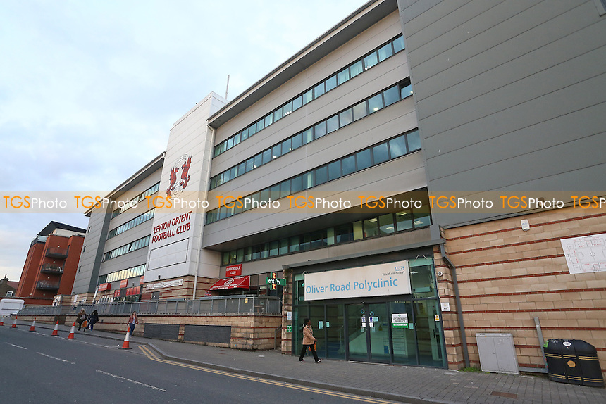 General view outside the ground ahead of Leyton Orient vs Morecambe, Sky Bet EFL League 2 Football at the Matchroom Stadium on 7th February 2017