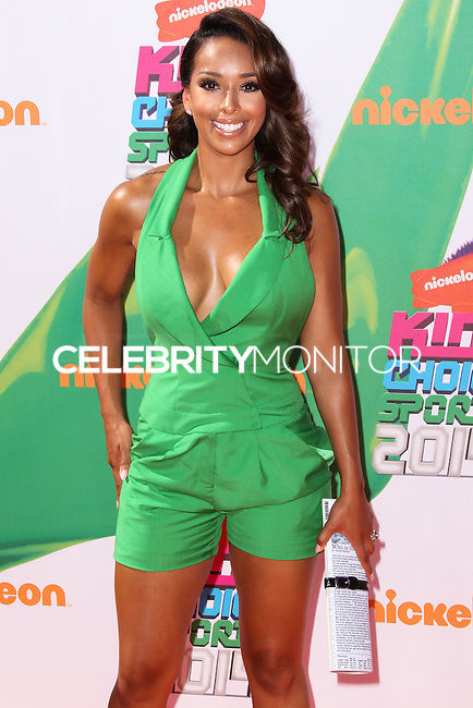 WESTWOOD, LOS ANGELES, CA, USA - JULY 17: Gloria Govan, Gloria Govan-Barnes at the Nickelodeon Kids' Choice Sports Awards 2014 held at UCLA's Pauley Pavilion on July 17, 2014 in Westwood, Los Angeles, California, United States. (Photo by Xavier Collin/Celebrity Monitor)