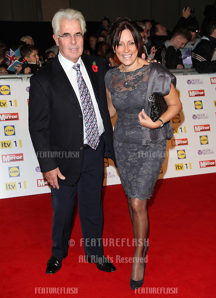Max Clifford and Jo Westwood arriving for the 2012 Pride of Britain Awards, at the Grosvenor House Hotel, London. 29/10/2012 Picture by: Alexandra Glen / Featureflash