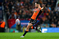 Picture by Alex Whitehead/SWpix.com - 07/10/2017 - Rugby League - Betfred Super League Grand Final - Castleford Tigers v Leeds Rhinos - Old Trafford, Manchester, England - Castleford's Luke Gale in action.