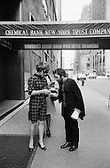 May 1969, Manhattan, New York City, New York State, USA. Spanish director, screenwriter, playwright, novelist and poet Fernando Arrabal in New York City. Image by © JP Laffont