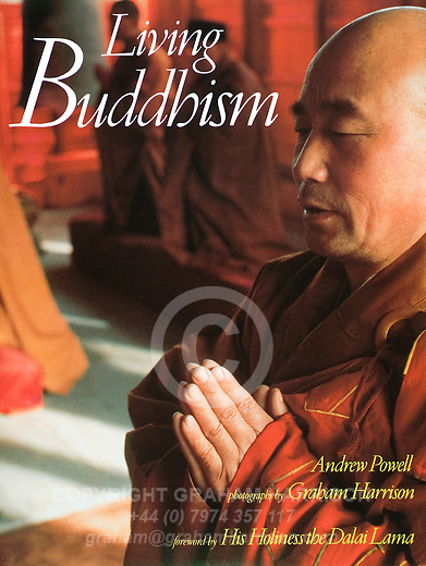 Living Buddhism (hardback) by Andrew Powell, photographs by Graham Harrison, British Museum Publications, London 1989.