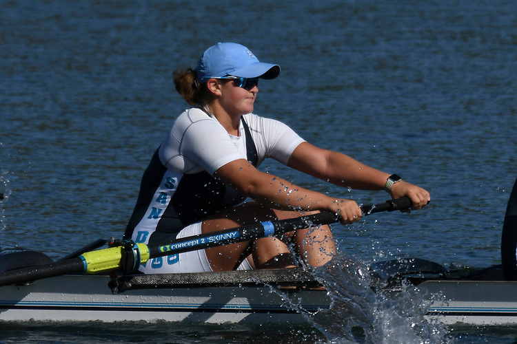May 13, 2017; Gold River, CA, USA; I Four San Diego Toreros during the WCC Rowing Championships at Lake Natoma.