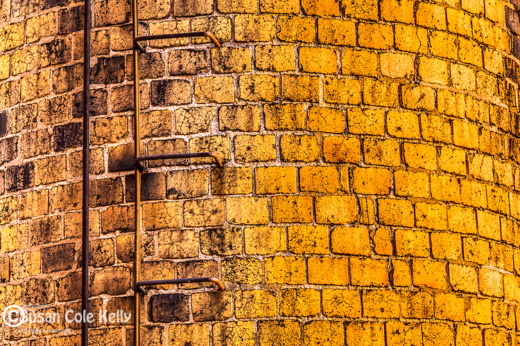 Industrial brick, East Boston, Massachusetts, USA