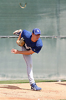 Cole St Clair, Los Angeles Dodgers 2010 minor league spring training..Photo by:  Bill Mitchell/Four Seam Images.