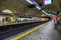 Travel Photograph.<br /> The Rome Metro Underground Train system has just two lines named A and B, The lines intersect at Rome Termini Station, the main public transport hub in Rome, Italy.